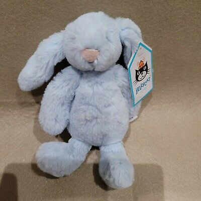 New Jellycat Bashful Bunny Blue Baby Soft Toy  BNWT  • 29.99£