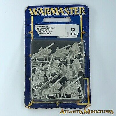 Metal Chaos Knight Blister - OOP - Warmaster Warhammer C853 • 39.99£