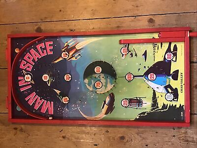Rare Chad Valley Man In Space Pinball Game • 45£