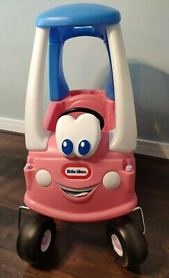 Little Tikes Cozy Coupe Princess, Classic Pink Toddlers Childrens Ride On Toy • 25£