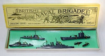 Rare Vintage Crescent Toys 'British Naval Brigade' (pre-war Issue)  - Boxed • 250£