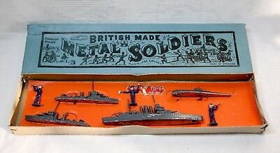 Rare Vintage Crescent Toys  'Metal Soldiers' (pre-war Issue)  - Boxed • 250£