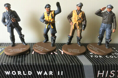 ORYON Collection Lead Soldiers 54mm; 5001 German Aviation X 4, 1944 • 36£
