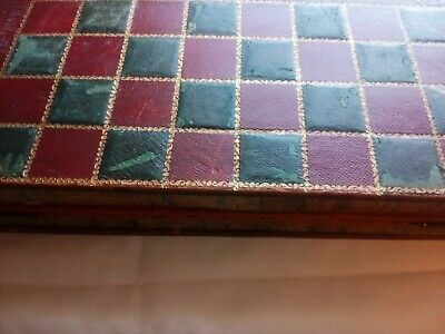 Antique Chess Board Faux Book • 75£