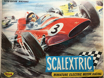 Scalextric Catalogue 5th Edition Catalogue In Good Condition, With Price List • 2.40£