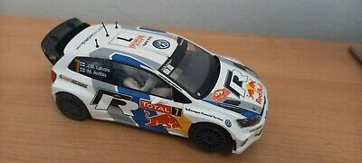 Scalextric Digital Volkswagen Polo Red Bull Rally Car  • 37£