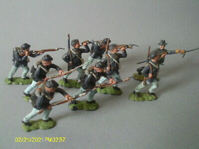 Vintage Herald ACW Federal Infantry Full Set Of Six Plus 3. 9 In Total. • 14.99£