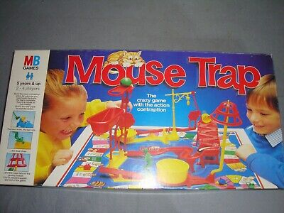 Mouse Trap Board Game MB Games Hasbro 1990s Vintage Classic. Complete GC • 7.99£