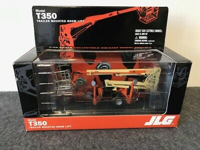 Jlg Gear T350 Collectible Diecast Trailer Mounted Boom Lift Model 1:32 • 45.99£