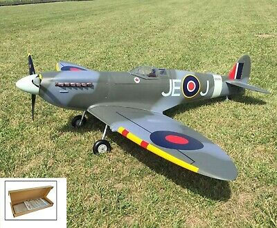 Supermarine Spitfire MkIIa R/c Plane Kit/semi Kit And Plans Balsa Easy Build RC • 60£