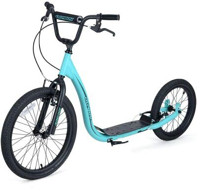 Osprey BMX Scooter With Big Wheels, Kids & Adults Off Road & Street Scooter Blue • 119.95£