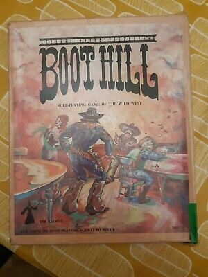 Boot Hill - Wild West Role-Playing Game (1979) 2nd Edition • 18.50£