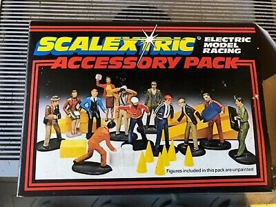 Scalextrix Accessory Box C706 - Complete And Unpainted • 11.50£