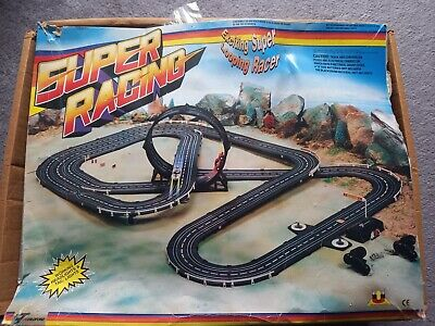 Childford Super Racing Looping Slot Car Set 1980s 'Scalextric Style  • 7.50£