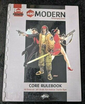 D20 Modern Roleplaying Game - Core Rulebook - D20 System • 15£