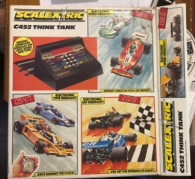 Scalextric Think Tank C452 - Boxed, Complete And Functioning • 35£