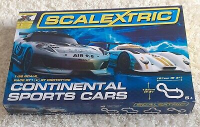 Scalextric Continental Sports Cars Set, Unwanted Gift, Unused • 20£