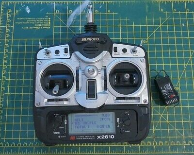 Jr Propo X2610 Transmitter And Receiver • 50£