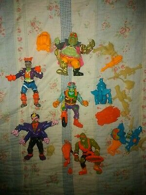 5 Toxic Crusaders Figures + Accessories Very Rare Vintage 90s Toys  • 75£
