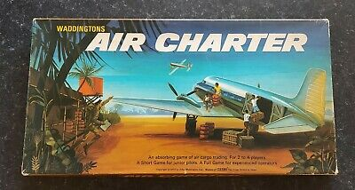 Air Charter Board Game (Waddingtons 1970) Complete Good Condition.Complete • 4.40£