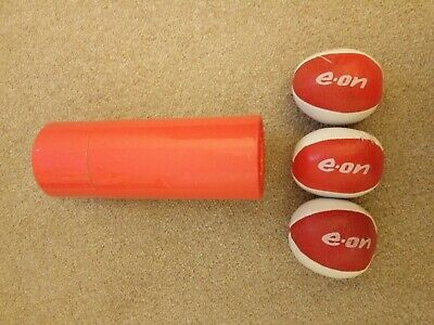 Eon Advertising Juggling Balls X3 Soft Squeeze Balls In Box • 10£