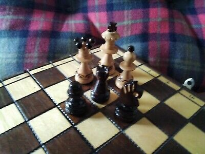 Chess Set And Board Complete A* Condition • 38.99£