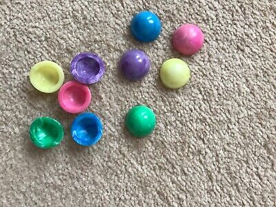 Mini Rubber Poppers For Party Bags X 10 Various Colours • 2£
