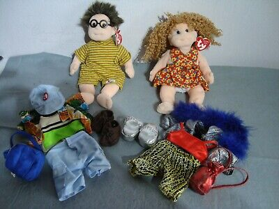 Ty Beanie Kids, Princess & Specs, Both With Tags. Used, VGC • 9.99£