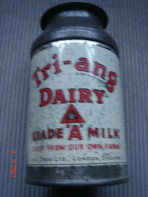 Vintage & ClassicTin Plate Triang Dairy Grade A Milk Churn • 25£