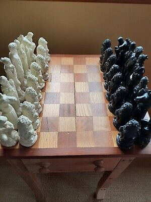 Complete Set Of Chess Pieces • 6.20£