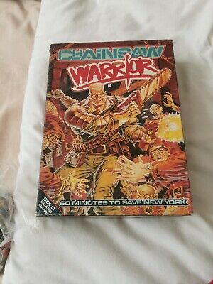 CHAINSAW WARRIOR Solo Board Game Boxed Games Workshop 1987 • 12.20£