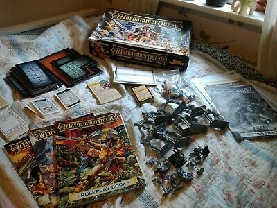 Warhammer Quest 1995, Vintage Board Game 90s Classic • 150£