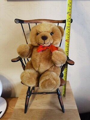 Plush Teddy In A Chair • 8£