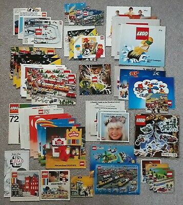 Lego Catalogues And Train Leaflets Vintage 1969 To 1999 Brochures Job Lot • 30£