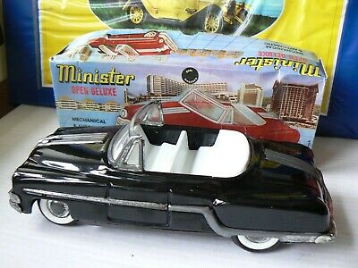 Vintage Minister Tinplate/friction Drive Very Rare Opentop Variation Ex Cond  • 10£