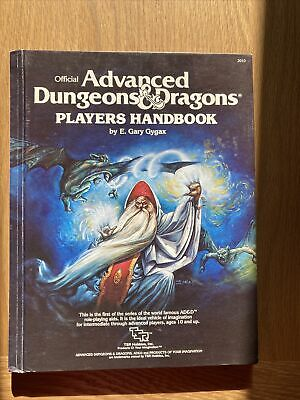 TSR Offical Advanced Dungeons & Dragons Players Handbook 2010 1st Edition • 15£