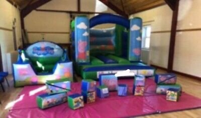 Bouncy Castle Commercial Grade With Ball Pool And Softplay • 650£
