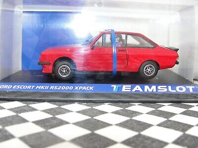 Team Slot Ford Escort Mkii Rs2000 Xpack Red 13001  1:32 Slot Bnib Latest Out • 39.99£
