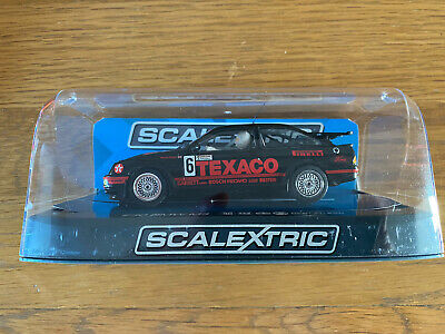 Scalextric Ford Sierra Cosworth RS500 Texaco Steve Soper C3738 No6 DPR Used Once • 25£