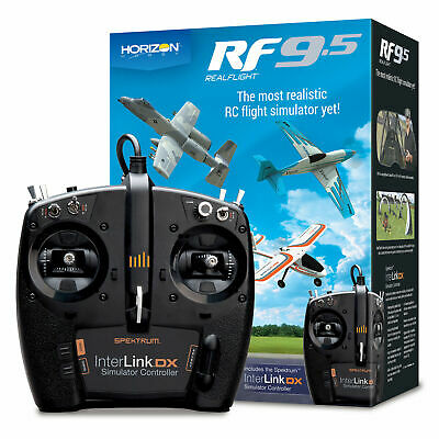 Realflight 9 RC Quadcopter Flight Simulator W/ Interlink DX Controller MD 2 MD2 • 154.28£