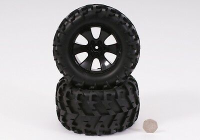 Radio Control Monster Truck Off Road Wheels And Tyres (Pair) BS904-014 • 9.95£
