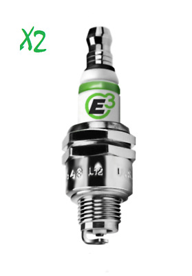 E3 DiamondFire Spark Plugs X2 For R/C RACING CAR (REPLACES NGK CMR7H) E3.24 RC  • 14.98£