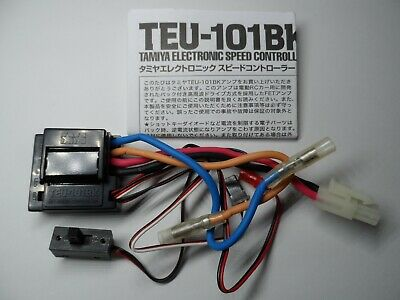 Vintage New Tamiya TEU-101BK ESC/Electronic Speed Controller (Removed From XB) • 39.99£