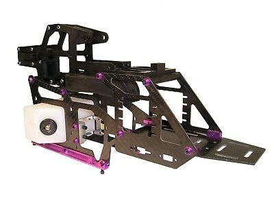 Century Hawk Helicopter Carbon Side Frame Conversion Kit 30 - 50 Size Upgrade • 74.99£