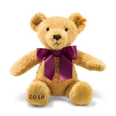 Steiff Cosy Year Bear 2018 Soft Cuddly Toy 113321 BRAND NEW • 35.95£