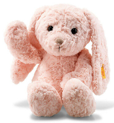 Steiff Soft Cuddly Friends 'Tilda' Washable Pink Bunny Rabbit - 40cm - 080630 • 36£