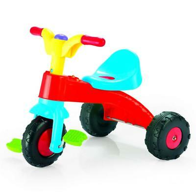 Dolu Toddler Kids Childrens My First Pedal Trike Three Wheel Ride On Multicolour • 19.39£