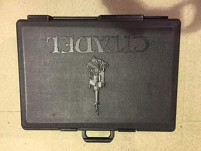 ML Games Workshop Citadel Large Figure Carry Case Wargames Second Hand CHEAP • 27.99£
