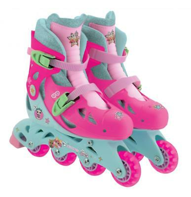 LOL Surprise Kids In-Line Roller Skates With Glitter Sock And Sticker Size 13J-3 • 29.63£