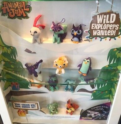 Animal Jam Soft Toy Hangers Mcdonalds Happy Meal 2018 UK Various Characters • 5.99£